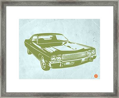 My Favorite Car 5 Framed Print by Naxart Studio