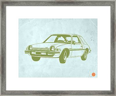 My Favorite Car  Framed Print by Naxart Studio