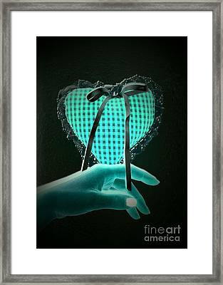 My Heart And My Soul Framed Print by Donatella Muggianu