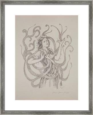 My Heart Speaks For Me Framed Print by Bruce Zboray