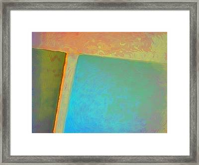Framed Print featuring the digital art My Love by Richard Laeton