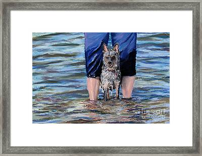 My Master's Keeper Framed Print by Cathy Weaver