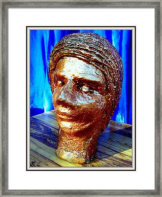 My Model Face Framed Print by Anand Swaroop Manchiraju