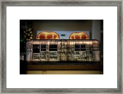 My Old Toaster Framed Print by Jan Maklak