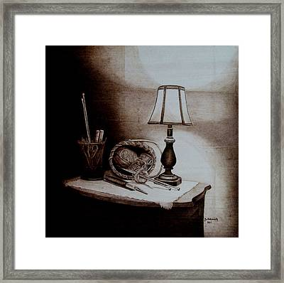 My Quiet Time Framed Print by Jo Schwartz
