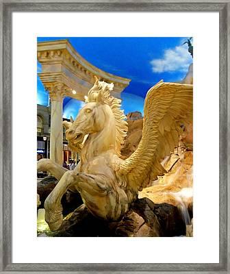My Vegas Caesars 13 Framed Print by Randall Weidner
