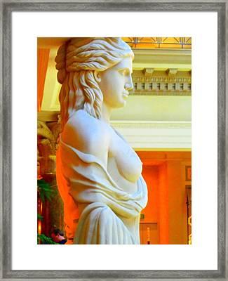 My Vegas Caesars 14 Framed Print by Randall Weidner