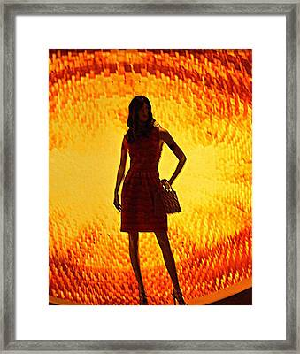 My Vegas Caesars 20 Framed Print by Randall Weidner