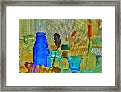 My View Exactly Framed Print by Sharon Farris