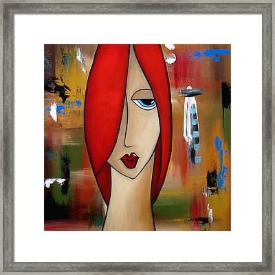 My Way By Fidostudio Framed Print by Tom Fedro - Fidostudio