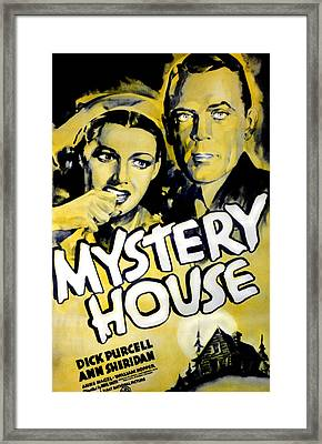 Mystery House, From Left Ann Sheridan Framed Print by Everett