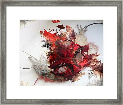 Mystery Of The Mask Framed Print by Jerry Cordeiro