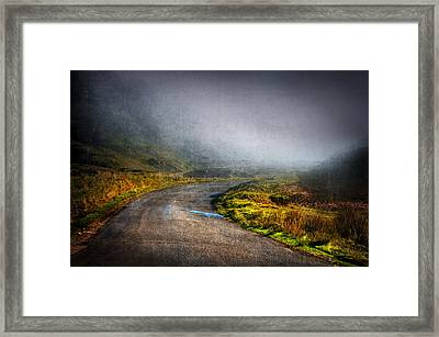 Mystery Road  Framed Print by Svetlana Sewell