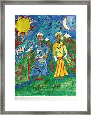 Mystic Hope Framed Print by D Douglas Merrell