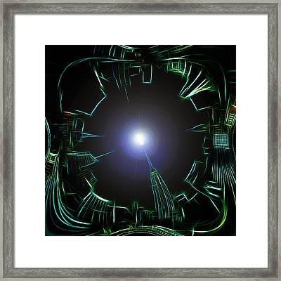 Mystic Moon Framed Print by Steve K