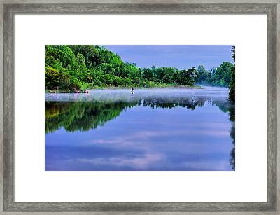 Mystic Morning Framed Print by Ken Beatty