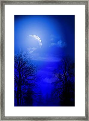 Mystic Night Framed Print by Mark Ashkenazi