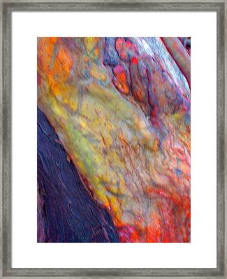 Framed Print featuring the digital art Mystics Of The Night by Richard Laeton