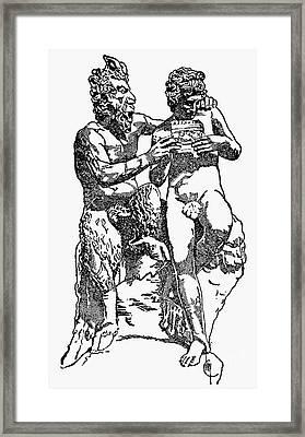 Mythology: Pan Framed Print by Granger