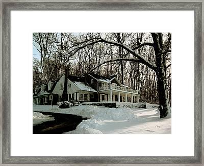 N. C. Wyeth Home Framed Print by Gordon Beck