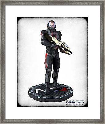 N7 Soldier V2 Framed Print by Frederico Borges