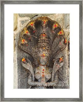 Naga Goddess Framed Print by Jarrod Brown