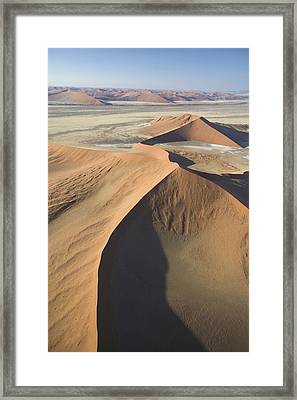 Namib Desert Framed Print by Unknown