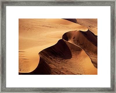 Namibia Aerial Vi Framed Print by Nina Papiorek
