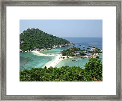Nangyuan Island Framed Print by Nawarat Namphon