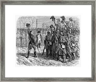 Napoleons Return, 1815 Framed Print by Granger