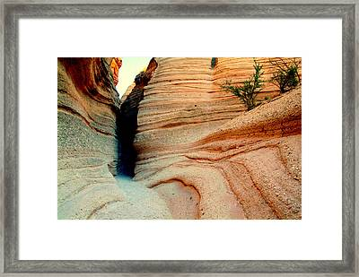 Narrow Is The Way.. Framed Print by Al  Swasey