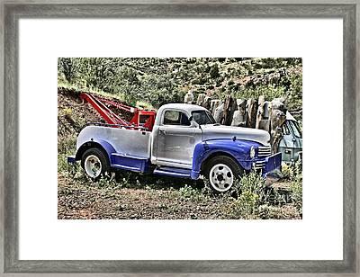 Nash Wrecker 2 Framed Print by Donald Tusa