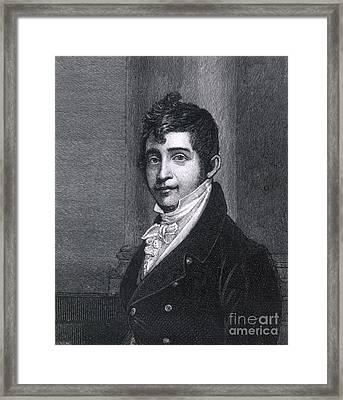 Nathan Appleton (1779-1861) Framed Print by Granger