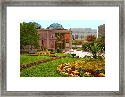 National Museum Of African Art Framed Print by Steven Ainsworth