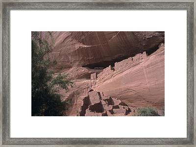 Native American Ruins Framed Print by Dirk Wiersma