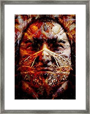 Native Spirit Framed Print by Christoher Gaston