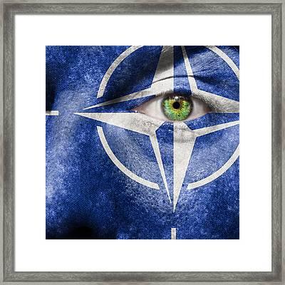 Nato Framed Print by Semmick Photo