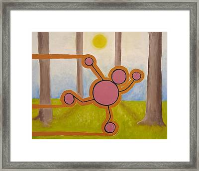 Nature - A Spontaneous Attitude. Framed Print by Cory Green