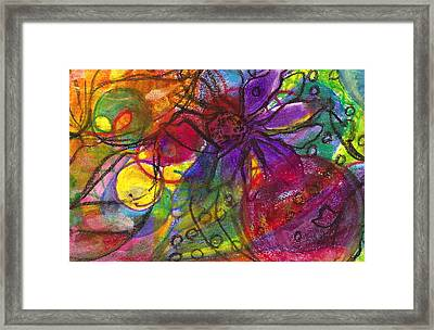 Nature Wild At Heart Framed Print by Claudia Smaletz