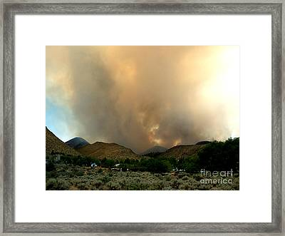 Natures Fury  Framed Print by The Kepharts