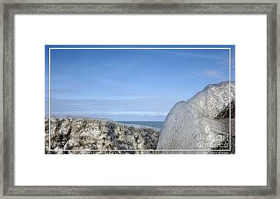 Natures Ice Sculptures 10 Framed Print by Rose Santuci-Sofranko