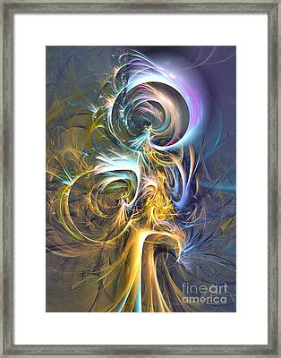 Natures Magic Trick Framed Print by Sipo Liimatainen