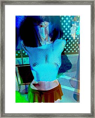 Naughty Nighwear Framed Print by Randall Weidner