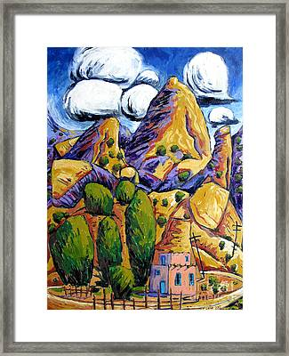 Navaho Trading Post Framed Print by Charlie Spear