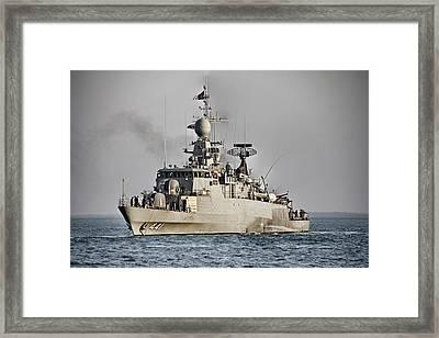 Naval Joint Ops V8 Framed Print by Douglas Barnard