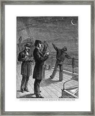 Navigation, 1871 Framed Print by Granger