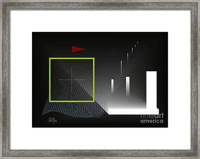 Navigation Framed Print by Leo Symon