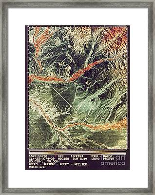 Nazca Lines Framed Print by NASA / Science Source