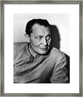 Nazi War Criminal Hermann Goering, Ca Framed Print by Everett