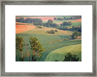 Near Eckelrade Framed Print by Nop Briex